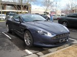 Aston db9 Australia Exotic Spotting in Melbourne: Aston Martin DB9