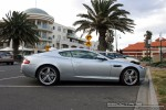 Exotic Spotting in Melbourne: Aston Martin DB9 - profile right (Middle Park, Vic, 20 Sept 08)