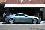 Street   Exotic Spotting in Melbourne: Aston Martin DB9 - profile right (St Kilda, Vic, 21 Jan 09)