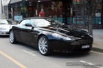 Aston db9 Australia Exotic Spotting in Melbourne: Aston Martin DB9 Volante - front right (South Yarra, Vic)