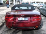 Photos aston Australia Exotic Spotting in Melbourne: Aston Martin DB9 Volante
