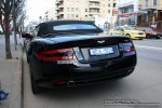 Aston db9 Australia Exotic Spotting in Melbourne: Aston Martin DB9 Volante - rear (South Yarra, Vic)