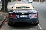 Aston db9 Australia Exotic Spotting in Melbourne: Aston Martin DB9 Volante - rear 2 (South Yarra, Vic, 11 May 08)a