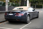 Aston   Exotic Spotting in Melbourne: Aston Martin DB9 Volante - rear left (South Yarra, Vic, 11 May 08)