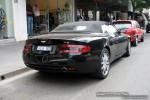 Right   Exotic Spotting in Melbourne: Aston Martin DB9 Volante - rear right (South Yarra, Vic, 18 Oct 08)