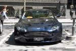 Van   Exotic Spotting in Melbourne: Aston Martin V8 Vantage - front (Melbourne, Vic, 26 Feb 09)