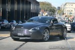 Exotic Spotting in Melbourne: Aston Martin V8 Vantage - front left (South Yarra, Vic, 22 March 08)