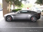 Exotic Spotting in Melbourne: Aston Martin V8 Vantage - profile left (Crown Casino, Vic, 14 March 08)