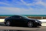 Van   Exotic Spotting in Melbourne: Aston Martin V8 Vantage - profile right (Middle Park, Vic, 15 Nov 09)