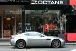 VAN   Exotic Spotting in Melbourne: Aston Martin V8 Vantage - profile right (South Yarra, Vic, 14 Nov 09)