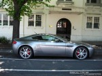 Right   Exotic Spotting in Melbourne: Aston Martin V8 Vantage - profile right (St Kilda, Vic, 23 Jan 08)