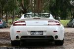As   Exotic Spotting in Melbourne: Aston Martin V8 Vantage - rear (Hanging Rock, Vic, 24 Apr 2010)
