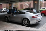 In   Exotic Spotting in Melbourne: Aston Martin V8 Vantage - rear left (Southbank, Victoria, 21 July 09)