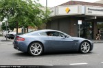 98octane Photos Exotic Spotting in Melbourne: Aston Martin V8 Vantage - rear right (Pt Melbourne, Vic, 14 Nov 09)