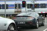 Right   Exotic Spotting in Melbourne: Aston Martin V8 Vantage - rear right (Toorak, Vic, 14 Nov 09)
