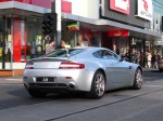 Plate   Exotic Spotting in Melbourne: Aston Martin V8 Vantage