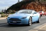 Gto   Ferraris and Aston Martins in Mornington: Aston Martin V8 Vantage Volante - front left (Mornington, Victoria, 14 Jun 09)