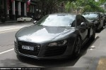 Melb   Exotic Spotting in Melbourne: Audi R8 - front left (Melbourne, Victoria, 18 Nov 09)a