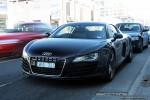 Audi   Exotic Spotting in Melbourne: Audi R8 - front left (Richmond, Vic)