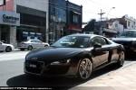 South   Exotic Spotting in Melbourne: Audi R8 - front left (South Yarra, Vic, 19 Dec 09)