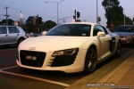 Audi   Exotic Spotting in Melbourne: Audi R8 - front left 1 (Glen Waverley, Vic, 11 Apr 09)