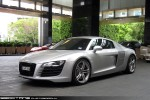 Audi   Exotic Spotting in Melbourne: Audi R8 - front left 2 (Crown, Victoria, 2 Nov 09)a