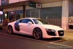 Audi   Exotic Spotting in Melbourne: Audi R8 - front right (Glen Waverley, Vic, 11 Apr 09)
