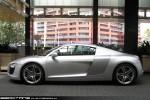 Audi   Exotic Spotting in Melbourne: Audi R8 - profile left (Crown, Victoria, 2 Nov 09)a