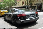 Exotic Spotting in Melbourne: Audi R8 - rear left 1 (Melbourne, Victoria, 18 Nov 09)a