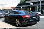 Exotic Spotting in Melbourne: Audi R8 - rear left 1 (South Yarra, Vic, 19 Dec 09)