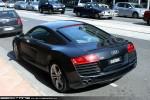 Left   Exotic Spotting in Melbourne: Audi R8 - rear left 2 (South Yarra, Vic, 19 Dec 09)
