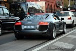 SALE,   Exotic Spotting in Melbourne: Audi R8 - rear right (South Yarra, Vic, 5 July 08)