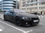 Black   Exotics in Dubai: BMW 6 Series [Hamann] - front right (black)