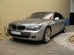 Bmw   Exotics in Dubai: BMW 740Li [mod] - front left (silver)
