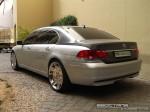 Exotics in Dubai: BMW 740Li [mod] - rear left (silver)