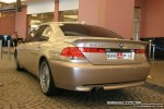 Series   Exotics in Dubai: BMW 7 Series [Alpina B7] - rear left (silver)