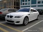Exotics in Dubai: BMW M5 [E60] - front left