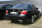 Exotic Spotting in Melbourne: BMW M5 - rear right (Grand Prix site, Albert Park, Vic, 16 March 08)