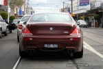 Bmw   Exotic Spotting in Melbourne: BMW M6 - rear (Malvern, Vic, 2 Aug 08)