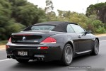 Exotic Spotting in Melbourne: BMW M6 Cabriolet - rear right (Vic, 1 Feb 09)