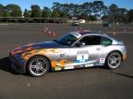 Bmw   Dutton Rally 2007 - Sandown, Victoria: BMW Z4M Coupe - profile left (Dutton Rally 07, Sandown, Vic, 2 Sept 07)