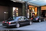 Exotic Spotting in Melbourne: Bentley Arnage and Continental - rear right (Crown, Vic, 28 Feb 2010)