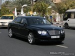 Pur   Exotics in Dubai: Bentley Continental Flying Spur - B front right (black)