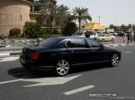 Pur   Exotics in Dubai: Bentley Continental Flying Spur - B rear right (black)