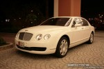 Left   Exotics in Dubai: Bentley Continental Flying Spur - E front left (white)