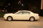 Pur   Exotics in Dubai: Bentley Continental Flying Spur - E profile left (white)