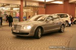 Pur   Exotics in Dubai: Bentley Continental Flying Spur - F profile right (silver)