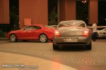 Exotics in Dubai: Bentley Continental Flying Spur - F rear right (silver)