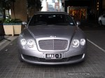 Pur   Exotic Spotting in Melbourne: Bentley Continental Flying Spur - front (Crown Casino, Vic, 08)