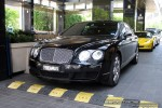 Bentley   Exotic Spotting in Melbourne: Bentley Continental Flying Spur - front left (Crown Casinio, Vic, 22 Oct 2008)